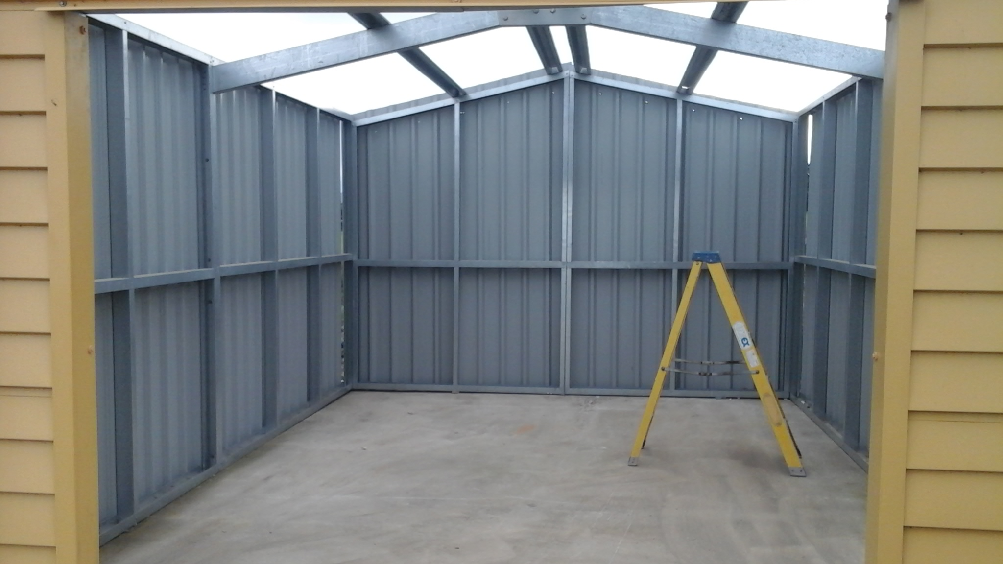 Galleries Steel Garages Uk